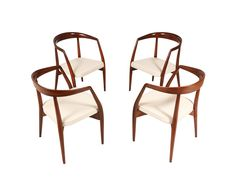 Lawrence Peabody Arm Dining Chair for Richardson Nemschoff | Danish Modern L.A
