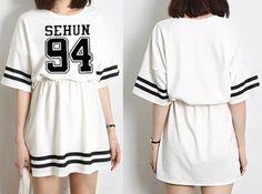 http://www.airu.com.br/produto/723522/vestido-exo-m-k-sehun-lay-chan-yeol-baek #Vestido #EXO #sehun #lay #chan #yeol #baek #hyun #kris #luhan #Kpop