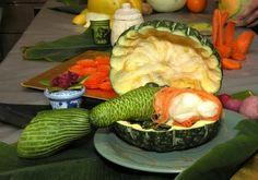 信じられないほどの果物と野菜のカービング