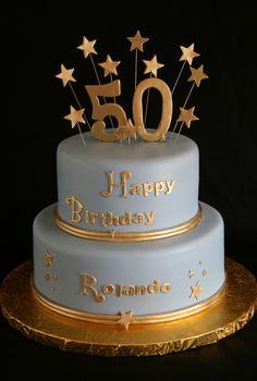 New Cake Birthday Men Treats Ideas Elegant Birthday Cakes, 50th Birthday Cake Images, 50th Birthday Cake For Women, 50th Cake, New Birthday Cake, Birthday Woman, 60th Birthday, Birthday Ideas, Birthday Cake For Women Elegant
