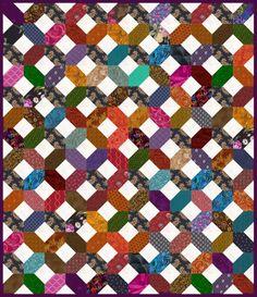 Put the X's and O's Quilt on Your To-Do List if You Love Scrap Quilts
