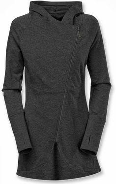 The North Face Tadasana Wrap-Ture Tunic - Women's - so cute for a casual coat! Gray Jacket, Jacket Style, North Face Women, The North Face, Looks Style, Style Me, North Face Jacket, Look Cool, What To Wear