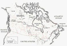 Fur Trade Posts Across Canada Canadian History, Native American History, Indigenous Education, Early Explorers, Teacher Boards, Fur Trade, O Canada, Study History, Hudson Bay