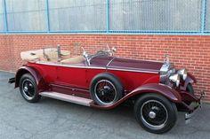 Rolls Royce Phantom I Ascot Tourer (1929) coachbuilding by Brewster