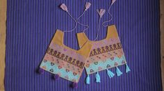 Made with cotton threads of the highest quality.   Immersed in the timeless charm of  traditional embroidery  from San Andres Larrainzar, of The Chiapas Highlands. Together, we created an exclusive line of bibs. That language without words translates into little art pieces.  Made in backstrap-loom, ancient embroidery technique.  Processing time, 3 days.  They will leave you speechless.  www.farfromhome.com.mx