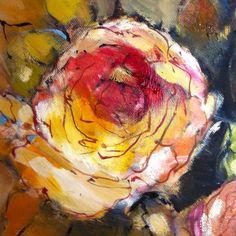 Red velvet rose by Liesel Brune