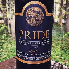 Nittany Epicurean: 2013 Pride Mountain Vineyards Pride Merlot