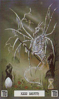 XIII - La mort - Dragon de tarot par Peter Pracownik