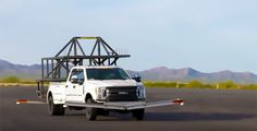 Ford engineers test the highly-anticipated aluminum-bodied 2017 Ford F350 Super Duty using a 5,000 pound welded-steel truck camper simulator. http://www.truckcampermagazine.com/news/ford-tests-2017-super-duty-truck-campers/