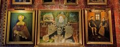 The Armada Portrait is the famous iconic portrait of Queen Elizabeth I, painted by George Gower in 1588 and on public display at Woburn Abbey in Bedfordshire. It commemorates the defeat of the Spanish Armada by the English fleet in Elizabeth First, Woburn Abbey, Spanish Armada, Public Display, Tudor History, King Queen, Duke, Queens, English