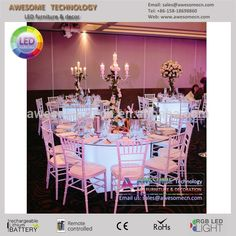 event banquet party table with led lights (cb800), View led light party table, Awesometech Product Details from Shenzhen Awesome Technology Co., Ltd. on Alibaba.com