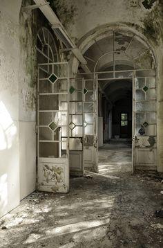 Abandoned 'Mombello Psychiatric Hospital', in Lombardia, Italy