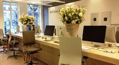 RITUALS Cosmetic Enterprise - head office Amsterdam by M+R interior architecture , via Behance