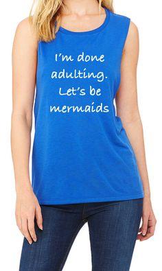 29 ideas yoga fashion outfits christmas gifts for 2019 Mermaid Shirt, Mermaid Mermaid, Womens Fashion Casual Summer, Womens Fashion For Work, Yoga Fashion, Fashion Outfits, Fashion Hair, Shirt Hair, Gym Shirts