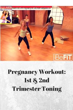 From BeFit 1st and 2nd Trimester Toning workout!