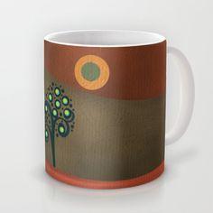 Circular tree III Mug by Viviana González - $15.00