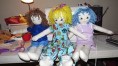 rag dolls am learning to make