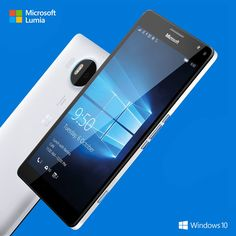 Microsoft Lumia 950 XL with Windows 10.