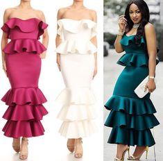 Classy Dress, Classy Outfits, Lace Dress, Dress Up, Bodycon Dress, Prom Dress, Strapless Dress, Africa Dress, Gown Pattern