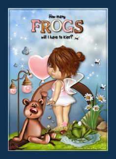 How to kiss a frog: How many frogs...