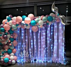 Birthday decoration ideas by Melting flowers! We also provide Birthday party decorations services as per our clients' special needs & requirements. We specialize in birthday party, theme birthday decorations in Bangalore, Chennai, Mysore & South India. Mermaid Theme Birthday, Little Mermaid Birthday, Little Mermaid Parties, Mermaid Party Decorations, Birthday Party Decorations, Birthday Parties, Late Birthday, Girl Birthday, Mermaid Baby Showers