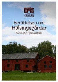 Hälsingegårdar, bok.