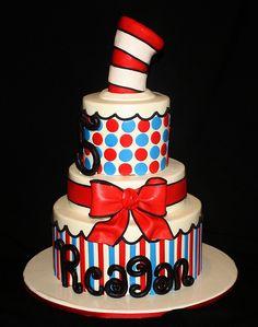 Dr.Seuss Cake