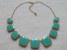 Cheap preppy classy statement necklace jewelry $10