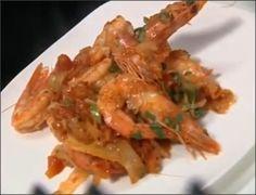 Как приготовить жареные креветки