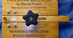 Homemade Woodworking Jigs | ... in the 2006 wood magazine s best ever woodworking jigs homemade | See more about Woodworking Jigs, Woodworking and Magazines.