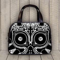 Legend of Zelda Majora Mask Art 2 Sides Classic by AmazingBagsShop The Legend Of Zelda, Leather Purses, Leather Handbags, Majora Mask, Nerd Merch, Masks Art, Kawaii, Geek Chic, Geek Stuff