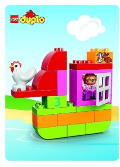 LEGO 10571 LEGO DUPLO All-in-One-Pink-Box-of-Fun instructions displayed page by page to help you build this amazing LEGO Duplo set Diy Preschool Toys, Diy Learning Toys, Cool Toys For Girls, Best Kids Toys, Lego Studios, Lego Duplo Sets, Toddler Boy Toys, Lego Craft, Lego Minecraft