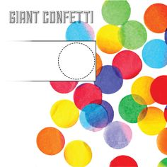 DIYCONFETTI... What a fun project for kids to do!   http://www.hankandhunt.com/home/2012/4/3/happy-world-party-day-and-diy-confetti.html