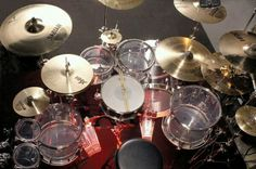 """""""I LOVE ACRYLIC DRUM KITS!""""  """"After all this time?""""   """"Always."""""""