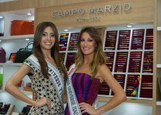 Miss Puerto Rico Universe Catalina Morales and Miss Italia Universe Valentina Bonariva