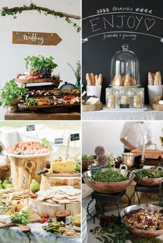 Food Glorious 13 Wedding Stations Ideas