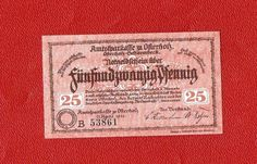 Germany Notgeld Osterholz 25 pfennig 1921 XF-UNC #29