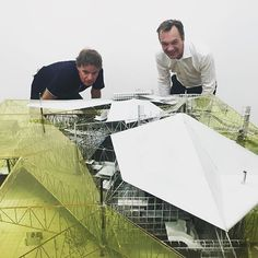 nexttoparchitects — Winy Maas & Wim Pijbes @gemeentemuseum #Constant...