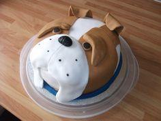 Billy Bulldog Cake