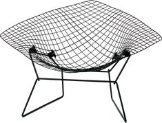 Diamond Chair (1952) Arieto (Harry) Bertoia