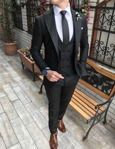 Takım Elbise,Blazer Ceket Trajes casuales - The best fashion types in the world fashionlife Stylish Mens Fashion, Mens Fashion Suits, Mens Suits, Gentleman Mode, Gentleman Style, Designer Suits For Men, Designer Clothes For Men, Costume Africain, Traje Casual