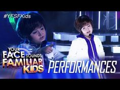 WATCH: Alonzo Muhlach as Justin Bieber on Your Face Sounds Familiar Kids | Pinoy Ambisyoso