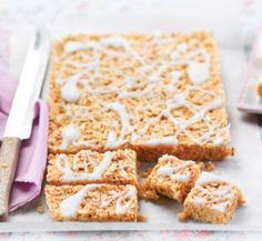 Lemon and coconut slice   Healthy Food Guide