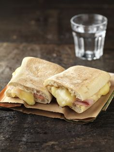 Croque Monsieur Ham & Cheese Panini (Starbucks UK)