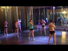 Elastic Heart - Sia Beginner/Intermediate Pole Dance Routine 1-19-15 - YouTube