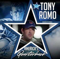 Tony Romo - America's Quarterback - Dallas Cowboys
