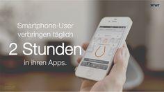 Zahl des Tages: 2 Stunden halten sich #Smartphone-Nutzer pro Tag in ihren #Apps auf.