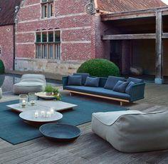 Paola Lenti Outdoor-Möbel und Teppiche