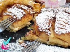 ΜΗΛΟΠΙΤΑ ΜΕ ΚΡΕΜΑ - Νόστιμες συνταγές της Γωγώς! Lemon Grass, Cake Cookies, Apple Pie, French Toast, Sweets, Breakfast, Desserts, Recipes, Food