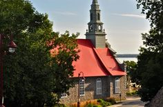 L'ile d'Orleans, Quebec just outside of Quebec City.